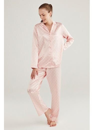 Penti SaHearts Pijama Takımı Pembe